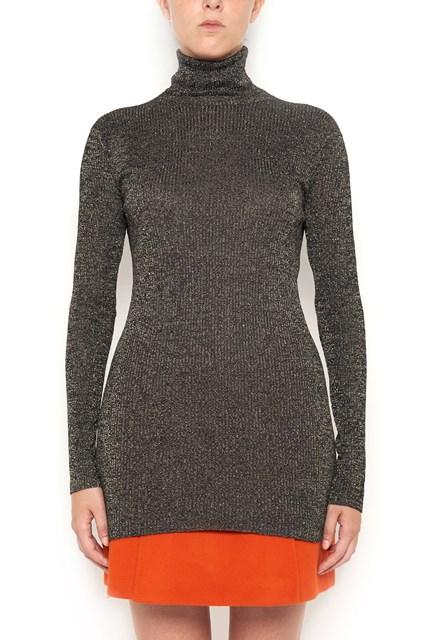 PRADA lurex turtleneck pullover