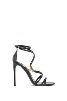 TOM FORD calf leather sandal