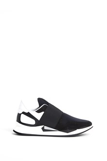 GIVENCHY Leather active multicolor sneakers with elastic band