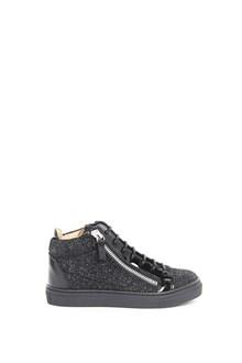 GIUSEPPE JUNIOR Leather high top sneaker