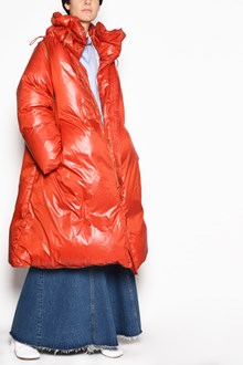 MM6 BY MAISON MARGIELA Long zipped down jacket with detachable sleeves