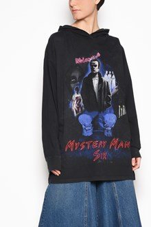 MM6 BY MAISON MARGIELA 'Mistery man' oversize hooded sweatshirt