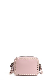 VALENTINO GARAVANI Rockstud crossbody calf leather bag