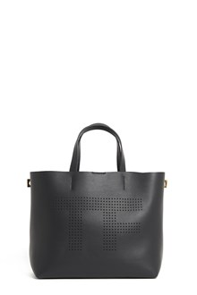 TOM FORD calf leather shopper bag with lettering