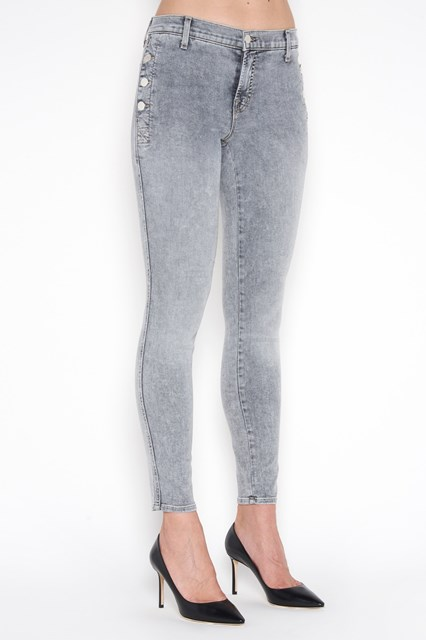 J BRAND 'Zion' medium waist skinny denim