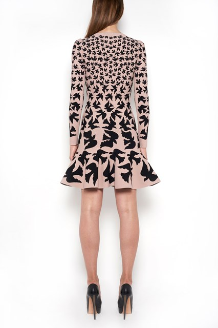 ALEXANDER MCQUEEN 'Swallow' dress