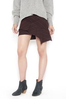 ISABEL MARANT 'Kimura' striped draped  mini skirt