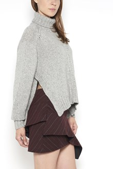 ISABEL MARANT 'Dusty' turtle neck sweater with lateral split