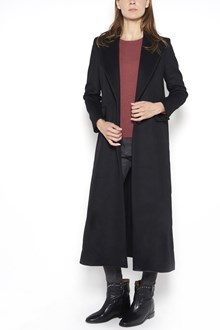 ISABEL MARANT 'Fraley' wool  long coat with revers