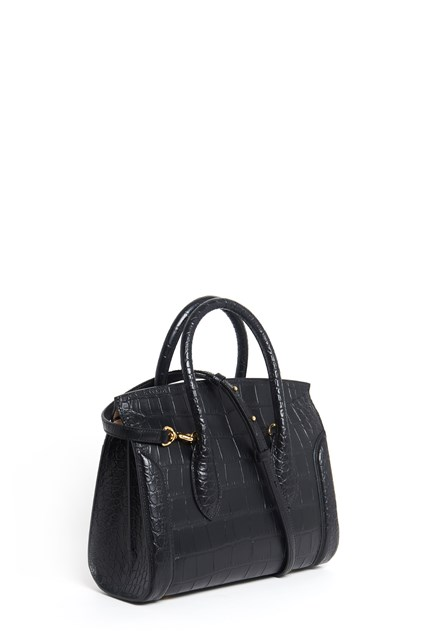 ALEXANDER MCQUEEN Leather handbag with shoulder strap