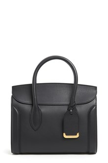ALEXANDER MCQUEEN 'Heroine 30' large leather hand bag with shoulder strap