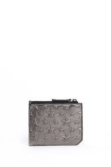 JIMMY CHOO 'Belmont' leather cardholder with stars