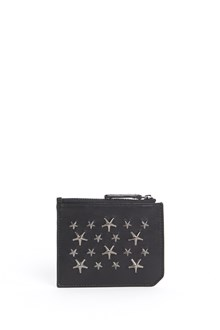 JIMMY CHOO 'Belmont'  biker leather  with stars studs