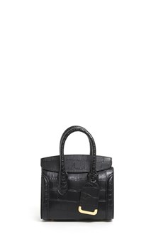 ALEXANDER MCQUEEN 'Heroine 21' small leather hand bag with shoulder strap