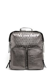 JIMMY CHOO 'Lennox' metallic leather backpack with stars