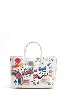 ANYA HINDMARCH 'Ebury' small leather handag with all over wink stickers