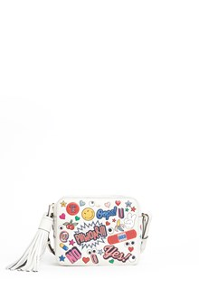 ANYA HINDMARCH crossbody all over wink stickers circus bag