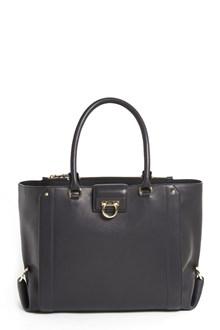 SALVATORE FERRAGAMO calf leather 'Luisa' medium bag
