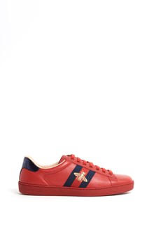 GUCCI Calf leather 'New Ace' sneaker
