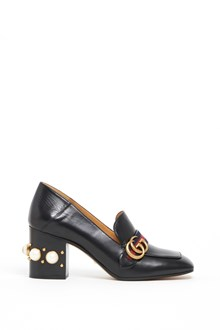 GUCCI 'Payton' leather mid-heel loafer