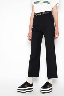 GUCCI cropped  cady crepe trousers