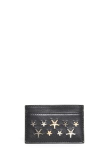 JIMMY CHOO multistar calf leather cardholder