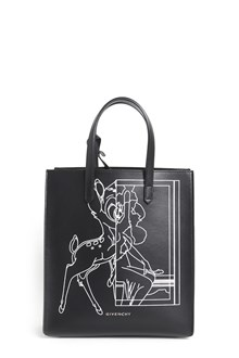 GIVENCHY 'Stargate' small 'Bambi' printed shopping bag with clutch