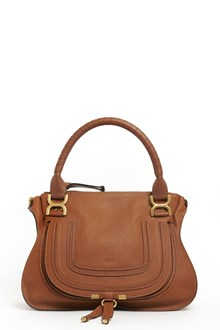 CHLOÉ Calf leather satchel with details in front