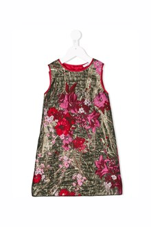 DOLCE & GABBANA Sleeveless dress with Rose print