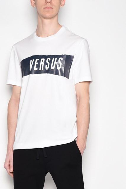 ZAYN X VERSUS 'Versus' printed cotton t-shirt