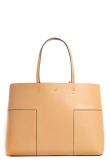 TORY BURCH Leather 'Block-T' tote