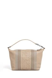 BOTTEGA VENETA Small leather shoulder sunshine bag
