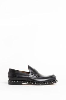 VALENTINO GARAVANI studded leather slippers
