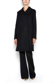 VALENTINO Virgin wool double breasted trench coat