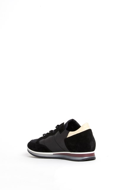 PHILIPPE MODEL 'Tropez' low top leather sneaker