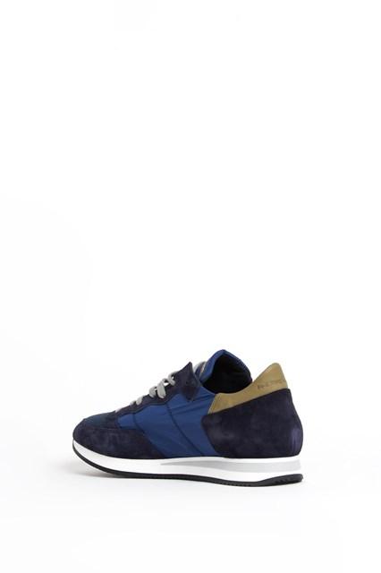 PHILIPPE MODEL 'Tropez' low top leather sneaker