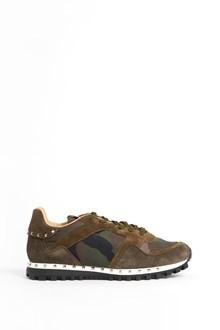 VALENTINO GARAVANI studded leather  sneaker