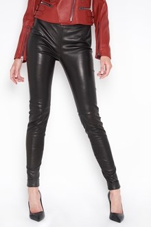 TOM FORD leather leggings with back zip