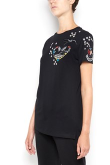 VALENTINO Cotton Embroidered t-shirt