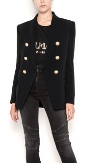 BALMAIN six buttons tailleur oversize jacket