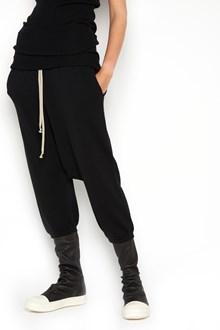 RICK OWENS Virgin Wool 'cropped drawstring' bermuda