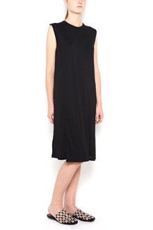 T by ALEXANDER WANG classic crewneck dress with chest pocket