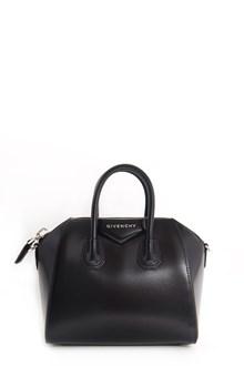 GIVENCHY Leather mini 'in box Antigona' bag with crossbody strap