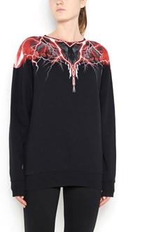 MARCELO BURLON - COUNTY OF MILAN 'Mapuce'  sweatshirt with print on crewneck