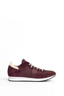 PHILIPPE MODEL 'Tropez' low top suede sneaker