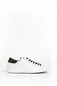 PHILIPPE MODEL Leather 'Paris' with constrasting shoes laces
