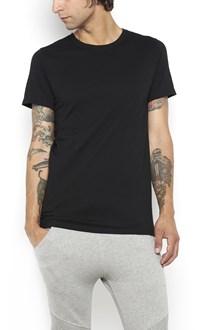 BALMAIN 3 t-shirt pack ,grey,black,white with destoyed neckline