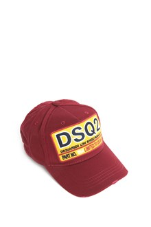 DSQUARED2 Cotton baseball cap with patch