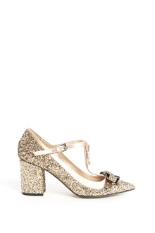N°21 Glittered sandals with details