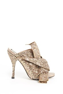 N°21 Glittered shoe with bow